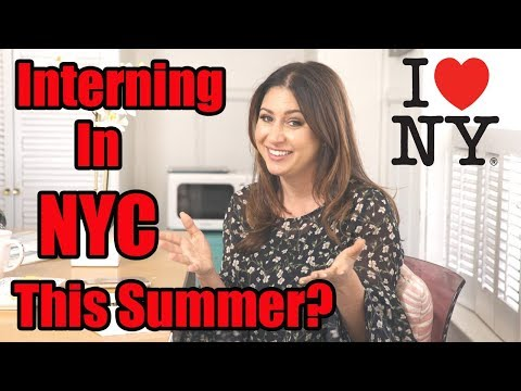 How to Convince Your Parents to Let You Intern in NYC This Summer!