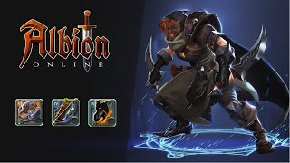 14 minutes of me being an asshole with claws, warbow and black hands || Albion Online Solo PvP