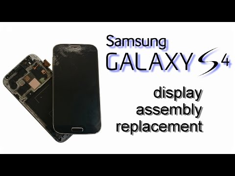 Samsung Galaxy S4 - LSD Display, Touch Screen with Frame, Digitizer, Glass Replacement.