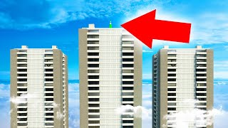 HIDING ON THE TALLEST BUILDING IN THE WORLD! (Gmod Funny Moments)