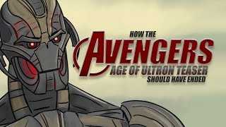 How The Avengers: Age of Ultron Teaser Should Have Ended