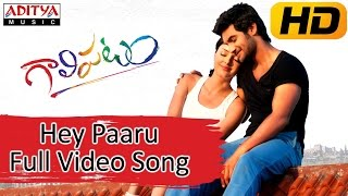Hey Paaru Full Video Song || Galipatam Movie || Aadi, Erica Fernandes, Kristina Akheeva
