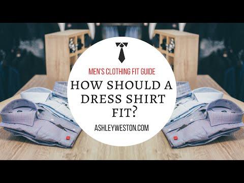 How Should A Dress Shirt Fit? - Men's Clothing Fit Guide