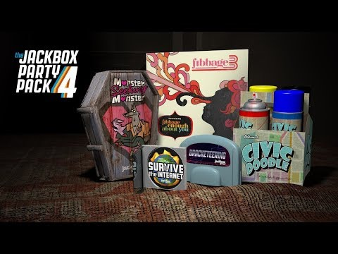 Jackbox Party Pack 3 AND 4! | Giveaway Winner Stream (Chadly)