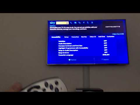 How To Access The Secret Sky Installer Menu On Your Sky+ HD box