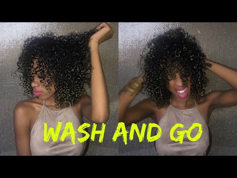 Curly Hair Routine/ Wash and Go!