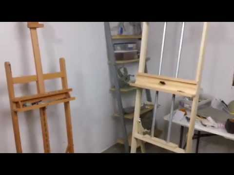 Build your own art easel with pdf plans . . . art-resource-build