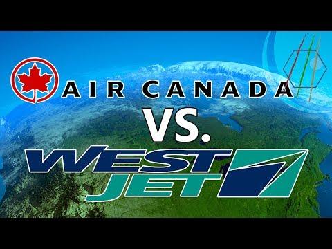 Flying in Canada: Air Canada vs Westjet