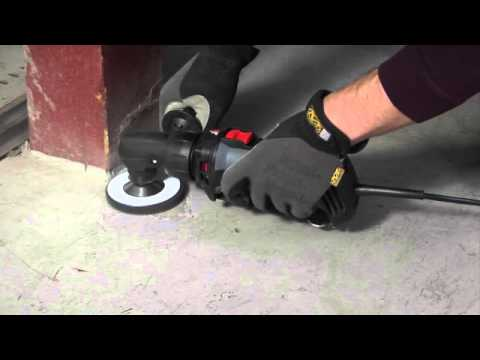 Removing Paint from Concrete with the RotoZip RotoSaw+
