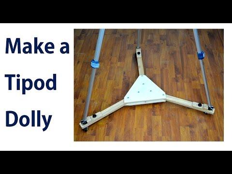 How to Make a Tripod Dolly / Tripod Wheels