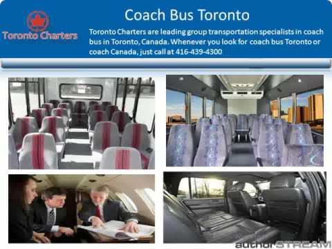 Charter Bus Companies Toronto