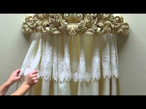 How to style a Wall Teester or Bed Crown