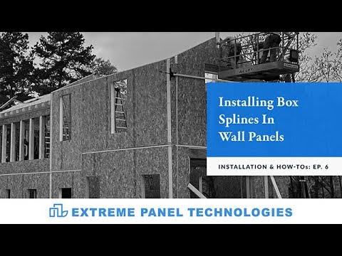 Episode: 6- Installing Box Splines In Wall Panels