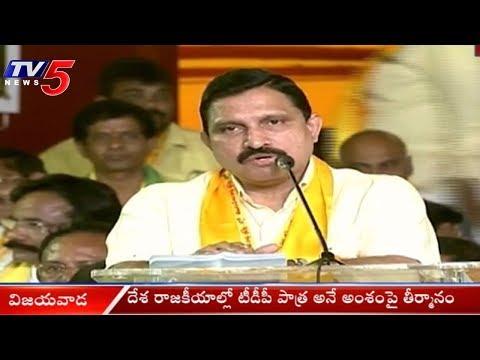 Y Sujana Chowdary Speech At TDP mahanadu 2018 Day 03    Vijayawada   TV5 News