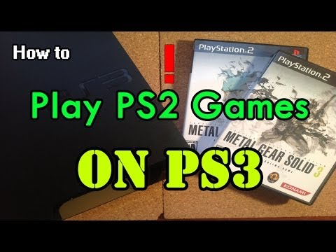 How to Play PS2 games on PS3 CFW