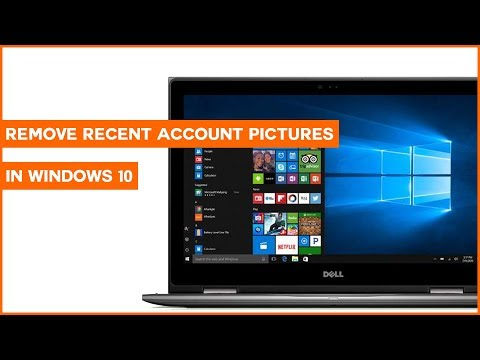 How to Remove Recent Account Pictures in Windows 10