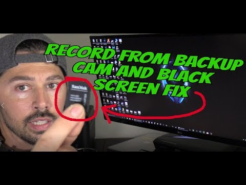 HOW TO FIX BLANK BLACK SCREEN AND BACKUP CAMERA UPDATE ON DASH CAM M6