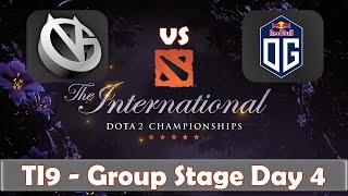 Download VG vs OG | The International 2019 | Dota 2 TI9 LIVE | Group Stage Day 4 Video