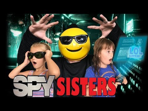 SPY SISTERS (Ep.1 Exploding LOL Surprise Doll)