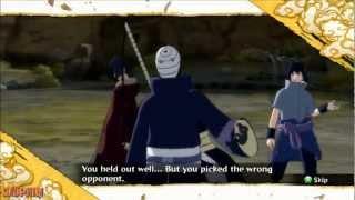 Naruto Storm 3 - Tobi Vs Madara