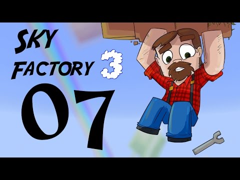 FTB 1.10 SkyFactory 3 Episode 7:  Tinkers Construct Smelter and Dirt!