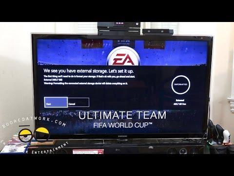 Xbox One June Update: USB Storage setup