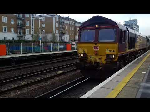 66084 passes P2 at Kensington Olympia