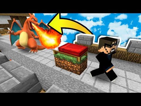 BEDWARS + POKEMON!! (THE NEW MINECRAFT BEDWARS SERVER?!)