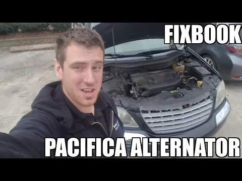 Alternator 04-08 Chrysler Pacifica Replacement
