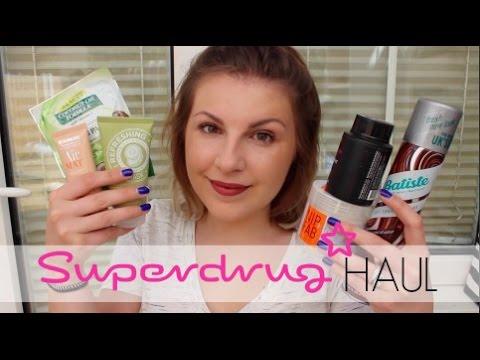 Superdrug Haul