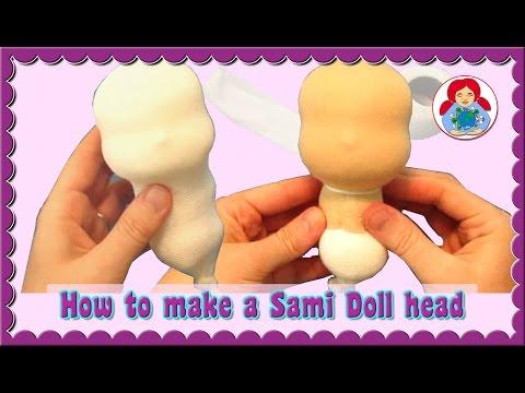 DIY | How to make a (Waldorf) Doll Head | Sami Doll Tutorials