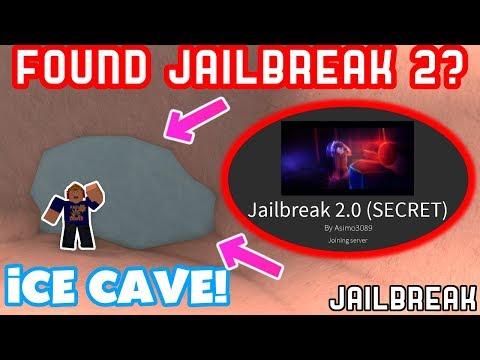 JAILBREAK ICE CAVE TELEPORTED ME TO JAILBREAK 2!! *SECRET*