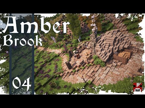 Minecraft Timelapse - Amber Brook 04 - MORE HOUSES - collab w. fWhip!
