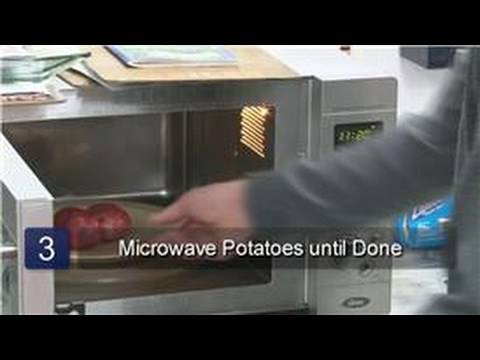 Kitchen Tips : How to Microwave a Red Potato