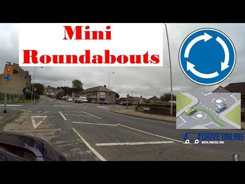 Mini Roundabouts explained - Mini Roundabouts UK Drive Online