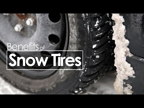 Snow Tire Benefits | Winter Driving Tips | Morrie's Automotive Group
