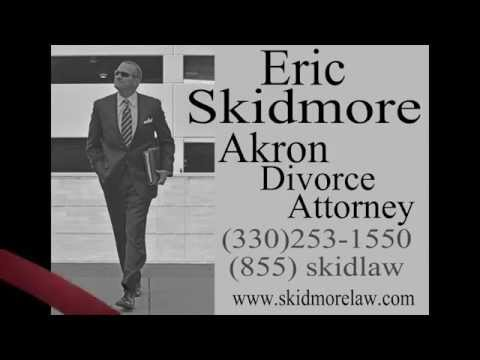 AKRON DIVORCE LAWYERS ERIC E SKIDMORE