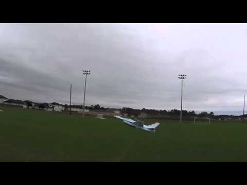 FRCFoamies F-16 mk2 Flight with Sony HDR-AS200V Action Camera Test