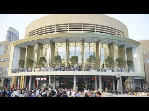 The Opening of Apple Dubai Mall Store