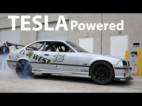 The TESLA Powered 850 lb ft EVwest  Electric BMW M3