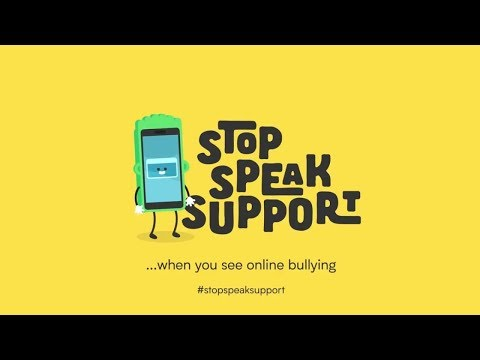 Stop, Speak, Support - Cyberbullying guidance for kids | Internet Matters