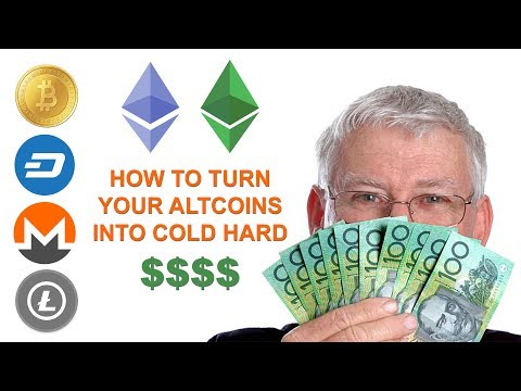 HOW TO CONVERT YOUR ALTCOINS INTO CASH
