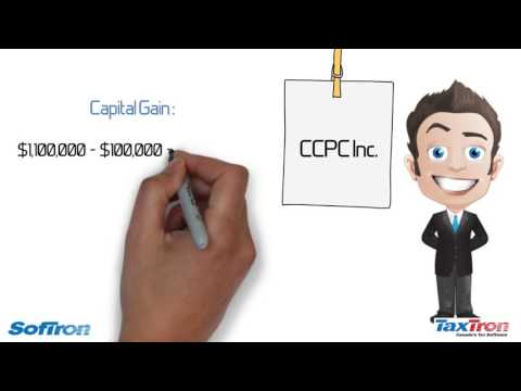 How to pay out tax free capital gain from your corporation?