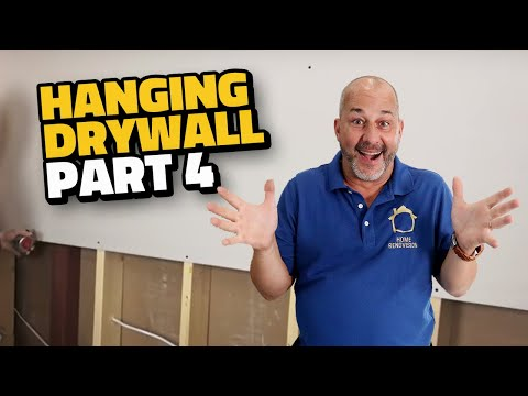 Complete Drywall Installation Guide Part 4 Hanging Walls