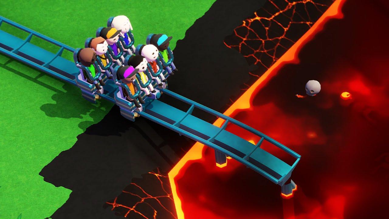 I Built a Theme Park With a 99.9% Death Rate - Parkitect