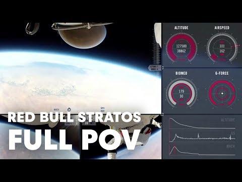 Red Bull Stratos FULL POV - Multi-Angle + Mission Data