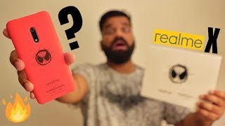 Realme X Spider Man Edition Unboxing & First Look - Best in Class?🔥🔥🔥
