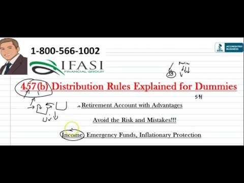 457 b Distribution Rules - 457 b Distribution Rules Explained