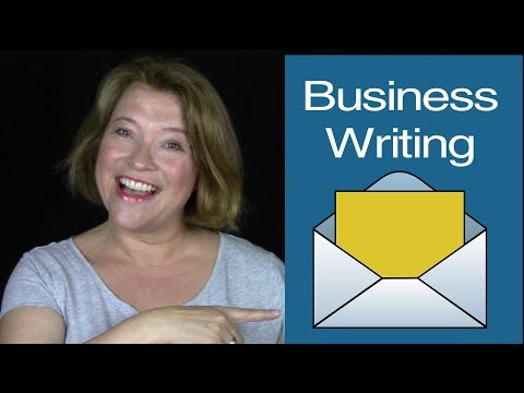 Business English Writing | Letters and Emails