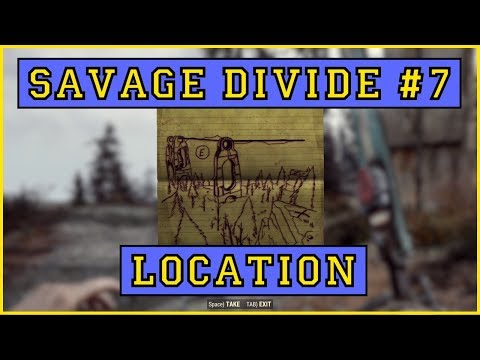 Savage Divide Treasure Map #7 LOCATION!